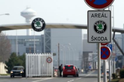 Skoda Auto Werk in Mlada Boleslav