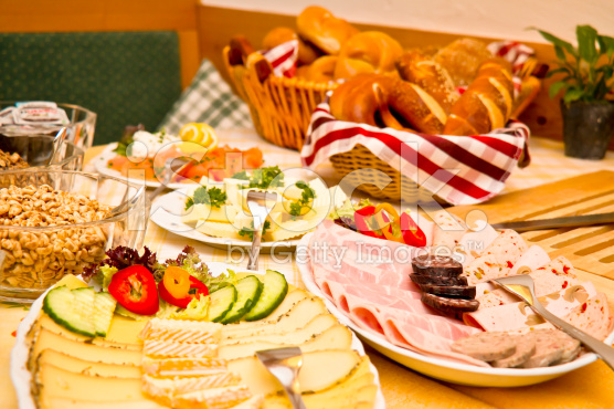 Source: http://www.istockphoto.com/photo/german-breakfast-buffet-39732694
